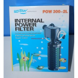 Uni Star - UniStar POW 300-2L Akvaryum İç Filtre 700 L/H