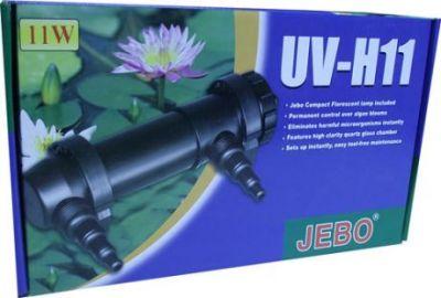 Jebo UV-H11 Ultraviole 11 Watt Akvaryum Filtresi