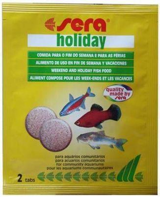 Sera Holiday Tablet Balık Tatil Yemi 2 Tablet