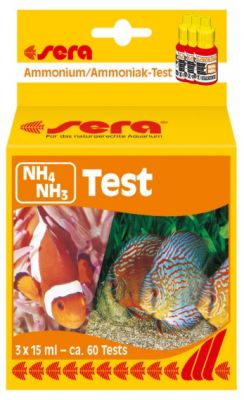 Sera NH4/NH3 Test Amonyum / Amonyak-Testi 15 ml.