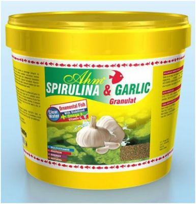 Ahm Marin Spirulina Garlic Sarımsaklı Yem 3000 Gr