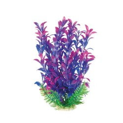 Chicos - Akvaryum İçin Mor Plastik Bitki 20-25 Cm