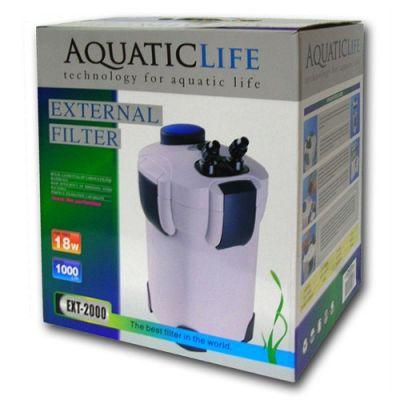 Aquatic Life Ext-2000 Dış Filtre 1000Lt/S
