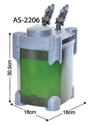 Astro 2206 Akvaryum Dış Filtre 600 L/H