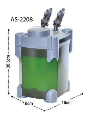 Astro 2208 Akvaryum Dış Filtre 800 L/H