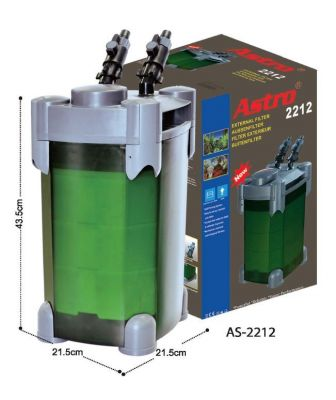 Astro 2212 Akvaryum Dış Filtre 1200 L/H