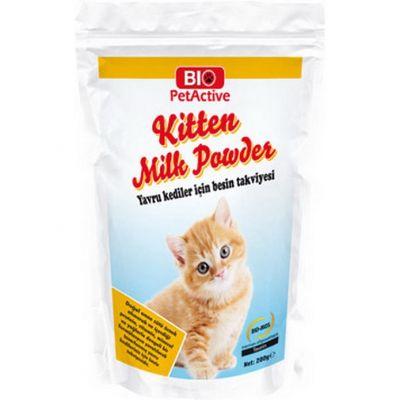 Bio Pet Kitten Milk Powder Kedi Sütü Tozu 200 Gr.
