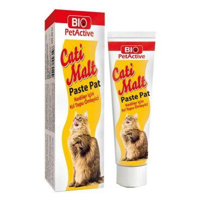 Bio Petactive Cati Malt Kediler İçin Kıl Topu Önleyici 25 ML