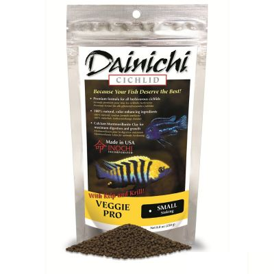 Dainichi Cichlid Veggie Pro Baby 1 mm 100 Gr.