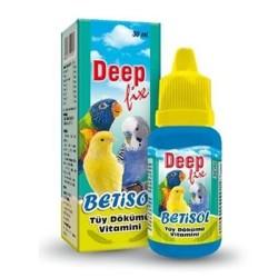 Deep - Deep Betisol Kuşlar İçin Tüy Dökümü Vitamini 30 ML