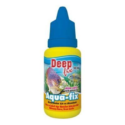 Deep Fix Aqua-Fix Akvaryum Su Düzenleyici 50 ML