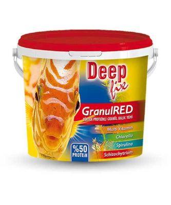 Deep Fix Granül Red Etçil Granül Balık Yemi 100 Gram