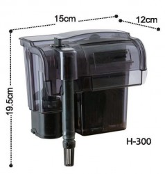 Dophin - Dolphin H300 Askı Şelale Filtre 360 L/H