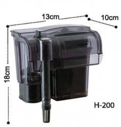 Dophin - Dophin H200 Askı Şelale Filtre 370 L/H