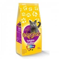Econature - Econature Gurme Yetişkin Kedi Maması 15 KG