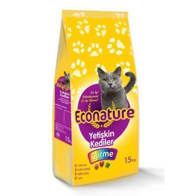 Econature Gurme Yetişkin Kedi Maması 15 KG