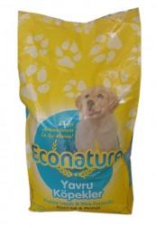 Econature - Econature Kuzu Etli Yavru Köpek Maması 15 Kg