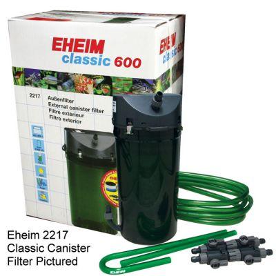 Eheim 2217-02 (Classic 600) Dış Filtre 1000 L/H Musluklu