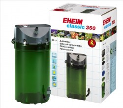 Eheim - Eheim Classic 350 2215-01 Dış Filtre Musluklu 600 L/H