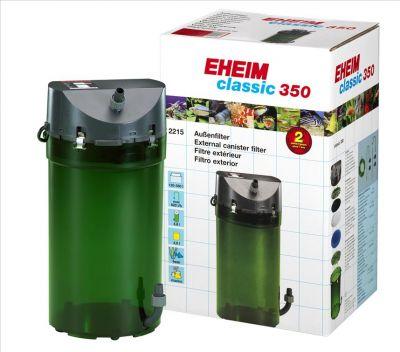 Eheim Classic 350 2215-01 Dış Filtre Musluklu 600 L/H