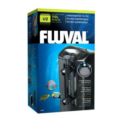 Fluval U2 Akvaryum İç Filtre 400 Lt/S