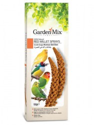 Garden Mix - Gardenmix Platin Kırmızı Dal Darı 150 Gram