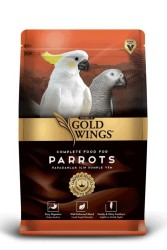 Gold Wings - Gold Wing Premium Papağan Yemi 750 Gram