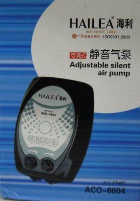 Hailea Aco 6604 Çift Çıkıs Akvaryum Hava Motoru