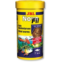 Jbl - Jbl Novo Fil Kurutulmuş Balık Yemi 100 ML