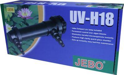 Jebo UV-H18 Ultraviole 18 Watt Akvaryum Filtresi