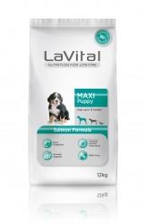 La Vital - La Vital Büyük Irk Yavru Somonlu Köpek Maması 12Kg