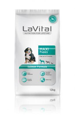 La Vital Büyük Irk Yavru Somonlu Köpek Maması 12Kg