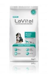 La Vital - La Vital Büyük Irk Yavru Somonlu Köpek Maması 3Kg