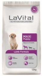 La Vital - La Vital Büyük Irk Kuzu Etli Yavru Köpek Maması 12Kg