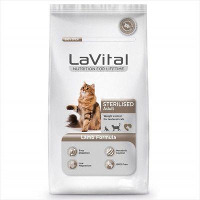 La Vital Kuzu Etli Yetişkin Kısırlaştırılmış Kedi Maması 12 Kg