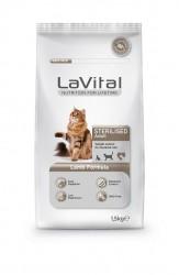 La Vital - La Vital Kuzu Etli Yetişkin Kısırlaştırılmış Kedi Maması 1,5 Kg