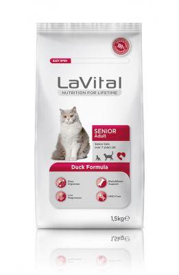 La Vital Ördek Etli Yaşlı Kedi Maması 1,5 KG