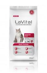 La Vital - La Vital Ördek Etli Yaşlı Kedi Maması 1,5 KG