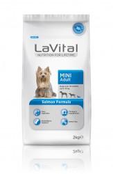 La Vital - La Vital Somonlu Küçük Irk Yetişkin Köpek Maması 2KG