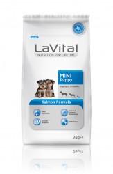La Vital - La Vital Küçük Irk Somonlu Yavru Köpek Maması 2KG