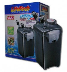 Life Tech - Life Tech 838 Dış Filtre 4 Sepetli 1200 L/H Dolu