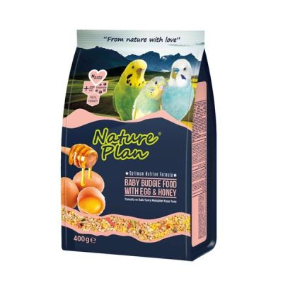 Nature Plan Yumurta Ballı Yavru Muhabbet Yemi 400Gr