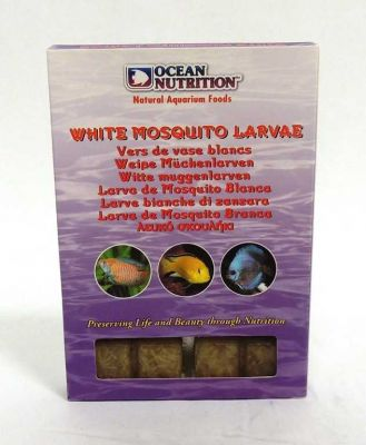 Ocean Nutrition Dondurulmuş White Mosguito Larvae 100 Gr.