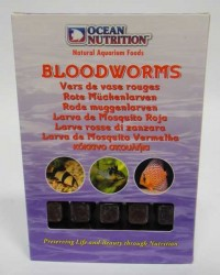 Ocean Nutrition - Ocean Nutrition Dondurulmuş Bloodworms Kankurdu 100 gr.