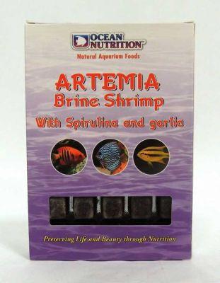 Ocean Nutrition Dondurulmuş Artemia-Garlic-Spirulina 100 Gr.