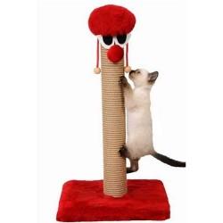 özelyem - Palyaço Kedi Tırmalama Tekli Kare Taban