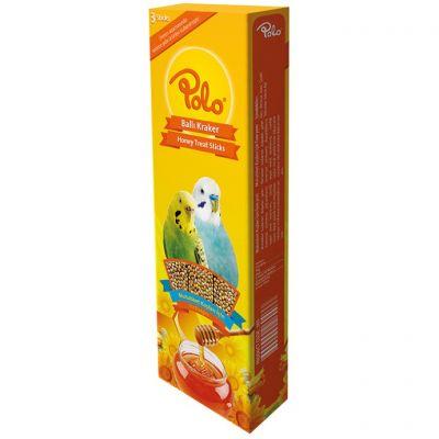 Polo Ballı Muhabbet Kuşu Krakeri 3 lü Paket