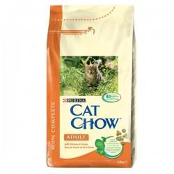 Purina - Purina Cat Chow Hindili ve Tavuklu Yetişkin Kedi Maması 15 Kg.