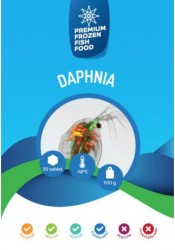 Rdm - Rdm Dondurulmuş Su Piresi Daphnia 100 Gr 35 Ad