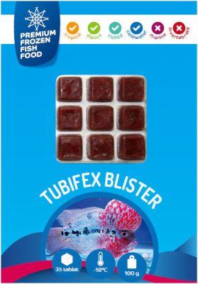 Rdm Premium Dondurulmuş Tubifex 100 Gr. 35 Tablet
